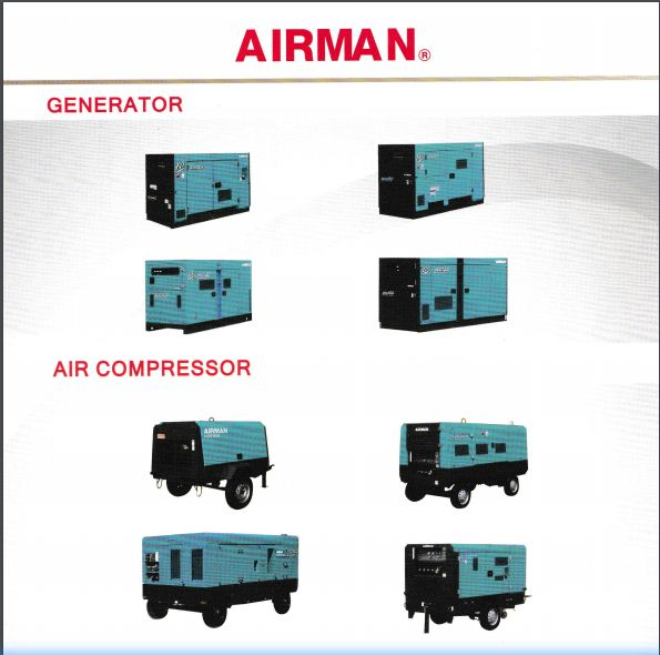Airman Air Compressors and Generators